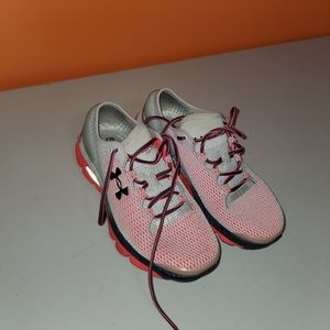 Under Armour Shoes - UNDER ARMOUR Gemini Running Shoe 7.5 Hot Pink-Grey